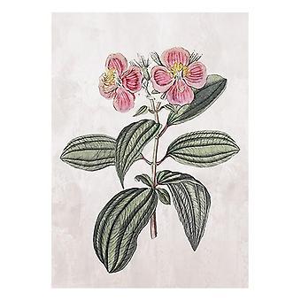 Maalaus kukka (105 x 75 x 4 cm)