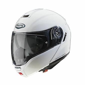 Caberg Levo Modular Flip Up Motorcykel Hjälm Vit