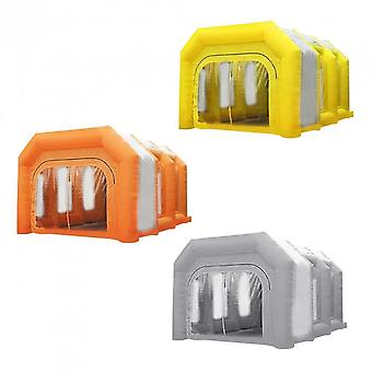 6m Inflatable Oxford Cloth Foldable Spray Paint Booth Tent Commercial Us Plug