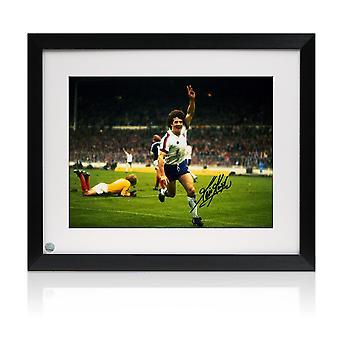 كيفن كيغان وقعت انكلترا لكرة القدم الصورة. مؤطر