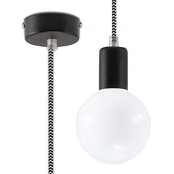 Pendant Lamp Edison Black&white