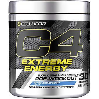 C4 Extreme Energy, Icy Blue Raspberry - 300 grams