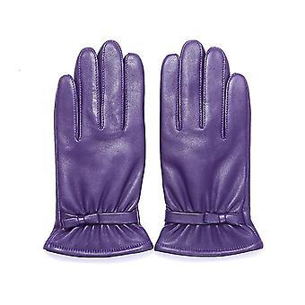 Invierno otoño cálido velvet forrado guantes