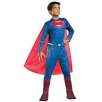 O Super-homem Batman Vs Superman DC quadrinhos do super-herói Dawn do traje de meninos de Justiça