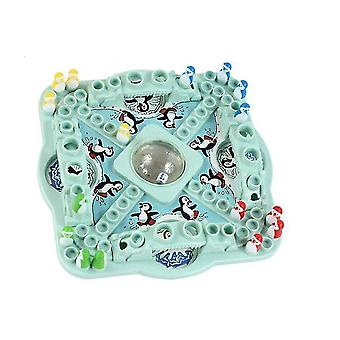 Pretend professions role playing competition game pop n'drop penguins toys board chess puzzle education desk toys