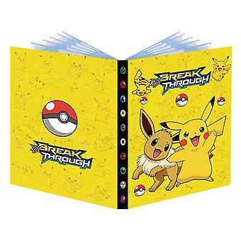 פוקימון אוסף אלבום כרטיס ספר 240 ספרי תצוגה פוקימון בינדר קלסר