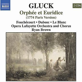 C.W. Von Gluck - Gluck: Orph E Et Euridice (1774 Paris versjon) [DVD] USA import