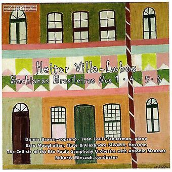 H. Villa-Lobos-Villa-Lobos: Bachianas Brasileiras Nos. 1, 4, 5 & 6 [CD] USA importeren
