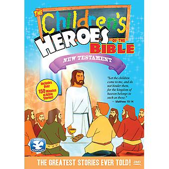 Children's Heroes of the Bible: New Testament [DVD] USA import