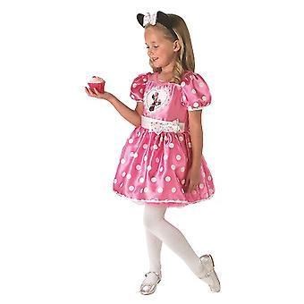 Minnie mouse myszy oryginalny Disney różowe ciastko dziecko kostium