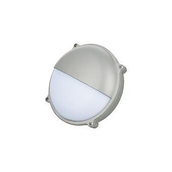 Timeguard Round Graphite Grey Eyelid 25W LED Outdoor Bulkhead