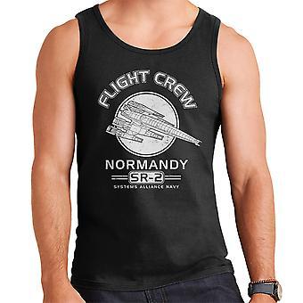 Normandië Flight Crew Mass Effect mannen Vest