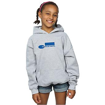 Blue Note Records Girls Simple Logo Hoodie