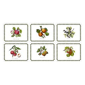 Pimpernel Pomona Placemats, Set of 6