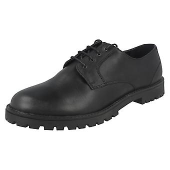 Boys Rhino by Startrite Smart Lace up School Shoes 'Marlborough'
