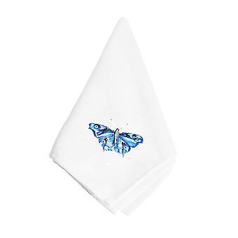 Serviette de table Carolines trésors 8856NAP papillon bleu