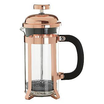 Premier Housewares Allera Rose Gold Finish Cafetiere, 350ml