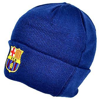 FC Barcelona oficial de malha inverno futebol crista chapéu do Beanie