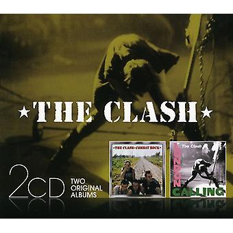 Clash - London Calling/Combat Rock [CD] USA import