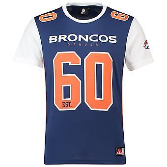 Majestoso NFL malha poliéster Jersey camisa - Denver Broncos