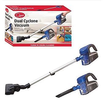 السعي المزدوج إعصار مكنسة الأدوات المنزلية الأزرق داخلي يده تمتد