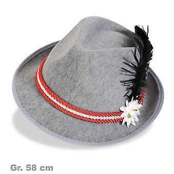 Bayern Hat Seppelhut Herrnhut Bayersk Oktoberfest Hat rød