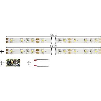 TAMS Elektronik 53-01450-02-C LED strip Directional, Dimmer, Switch + module Warm white 1 Set