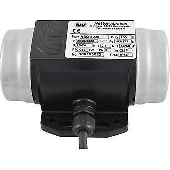 Netter Vibration NEG 5020 Electric vibrator 230 V/400 V 3000 rpm 192 N 0.035 kW