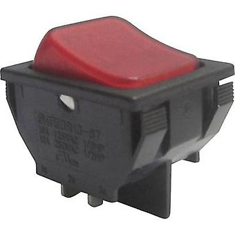 SCI Toggle switch R13-87B-02 250 V AC 10 A 1 x Off/On latch 1 pc(s)