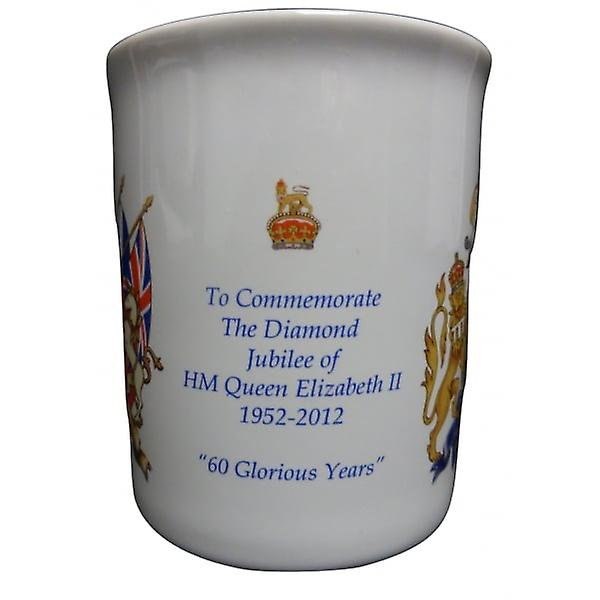 Union Jack Wear HRH The Queen Diamond Jubilee / Coronation Mug - Collectors Item