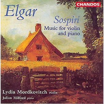 E. Elgar - Elgar: Sospiri [CD] USA import