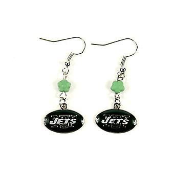New York Jets NFL Sophie Style Dangle Earrings