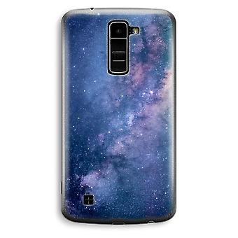 LG K10 (2016) transparante Case (Soft) - nevel