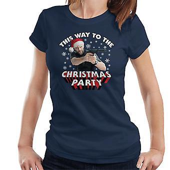 Jason Statham ainsi à T-Shirt la Christmas Party femmes