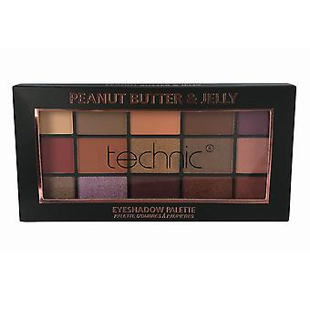 Technic Eyeshadow Palette Peanut Butter & Jelly