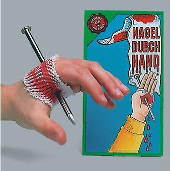 Nail the hands of killer nail prank