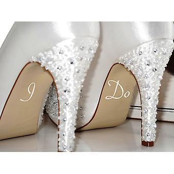 أفعل ملصقات الأحذية الزفاف