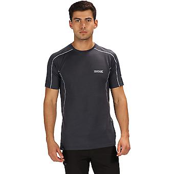 Regatta Mens Tornell supermyk ull aktive T skjorte