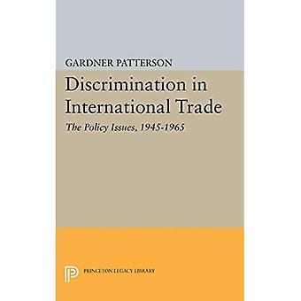 Discrimination dans le commerce International: questions de la politique, 1945-1965 (bibliothèque d'héritage de Princeton)