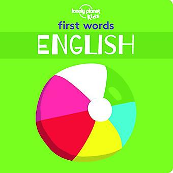 First Words - English (Lonely Planet Kids) [Board� book]
