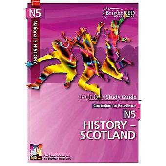 BrightRED Study Guide: National 5 History - Scotland (BrightRED Study Guides)