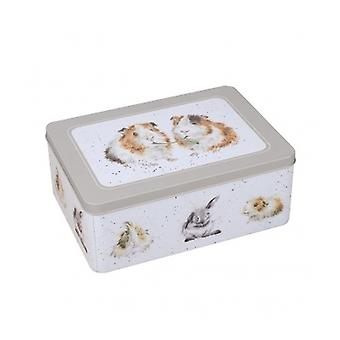 Wrendale Designs Guinea Pig Storage Tin