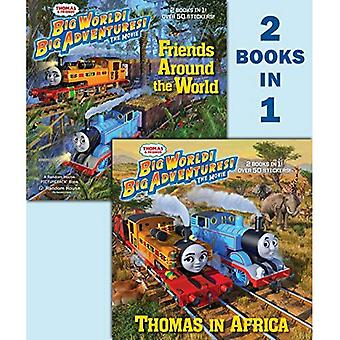Thomas & vrienden zomer 2018 DVD film Deluxe 2-In-1 Pictureback met Stickers (Thomas & vrienden) (Pictureback(r))