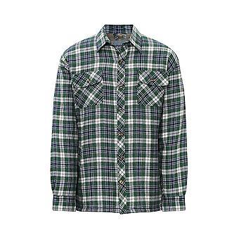 Mestari miesten pennin Fleece vuorattu & pehmustettu metsuri paita