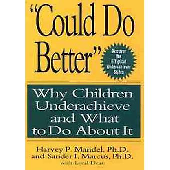 Could Do Better by Mandel & Harvey P.