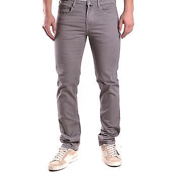 Pt05 Ezbc084019 Men's Grey Cotton Jeans
