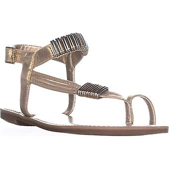 Bar III Womens Vera Fabric Open Toe Casual Ankle Strap Sandals