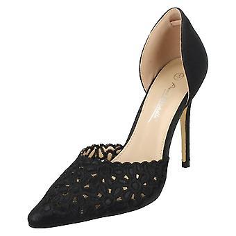 Ladies Anne Michelle Stiletto Heel Shoes