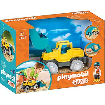 Playmobil 9145 Sand Excavator With Removable Shovel