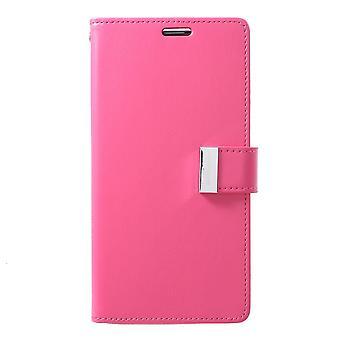 Mercury GOOSPERY Rich Diary for Samsung Galaxy S10 +-Rose